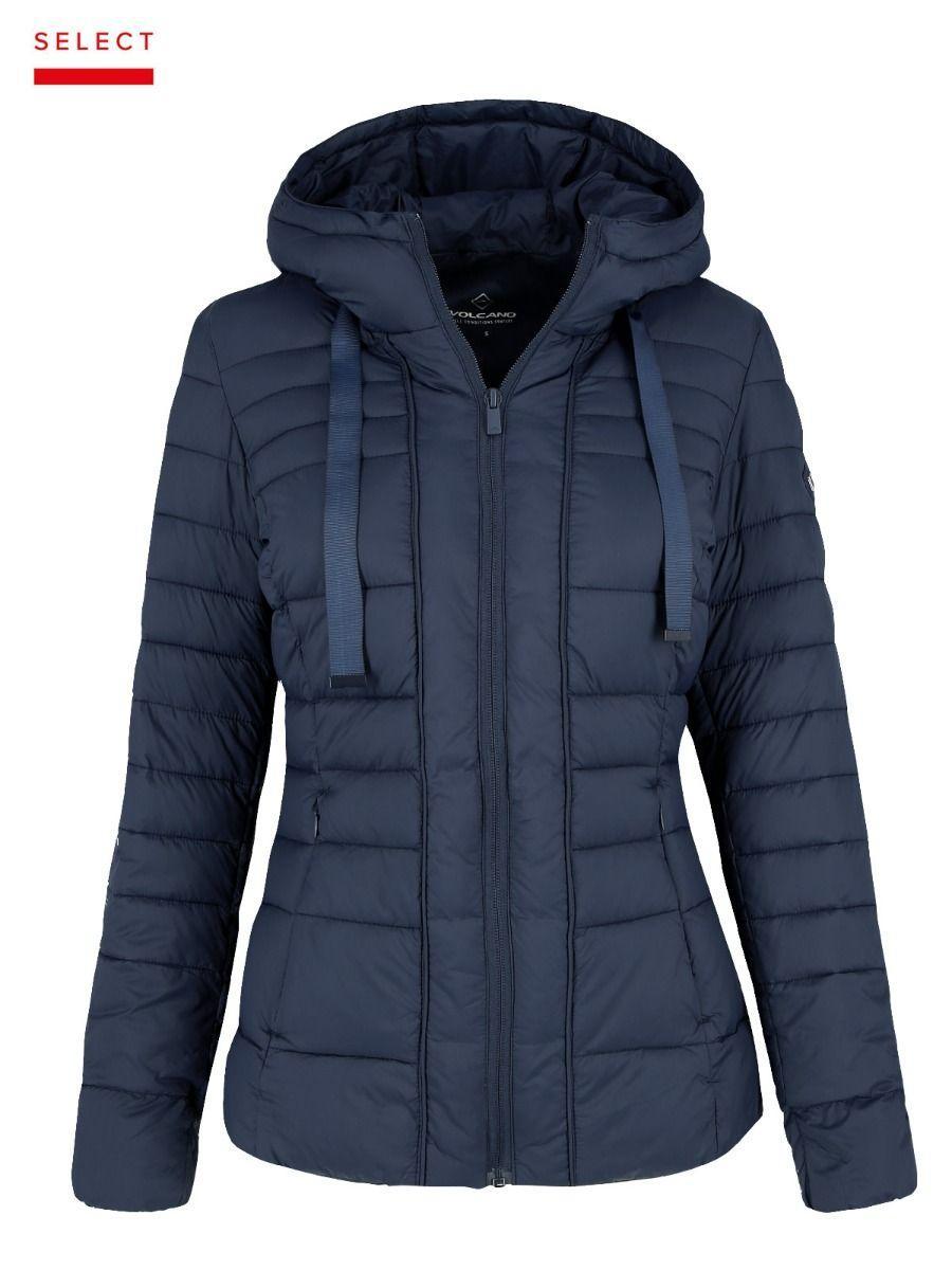 Зимняя женская синяя куртка Volcano J-Simly L06027-600