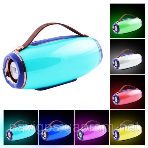 Bluetooth-колонка AK202 LIGHT SHOW 3D BASS SOUND,  STRONG BATTERY, c функцией Power Bank, speakerphone, радио