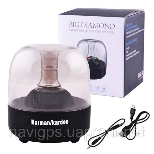 Bluetooth-колонка F7 BIG DIAMOND c функцией Light Show, speakerphone