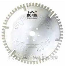 Дисковая фреза Konig для обработки внешнего угла 230х4.5/3.5х20х54+6FZ