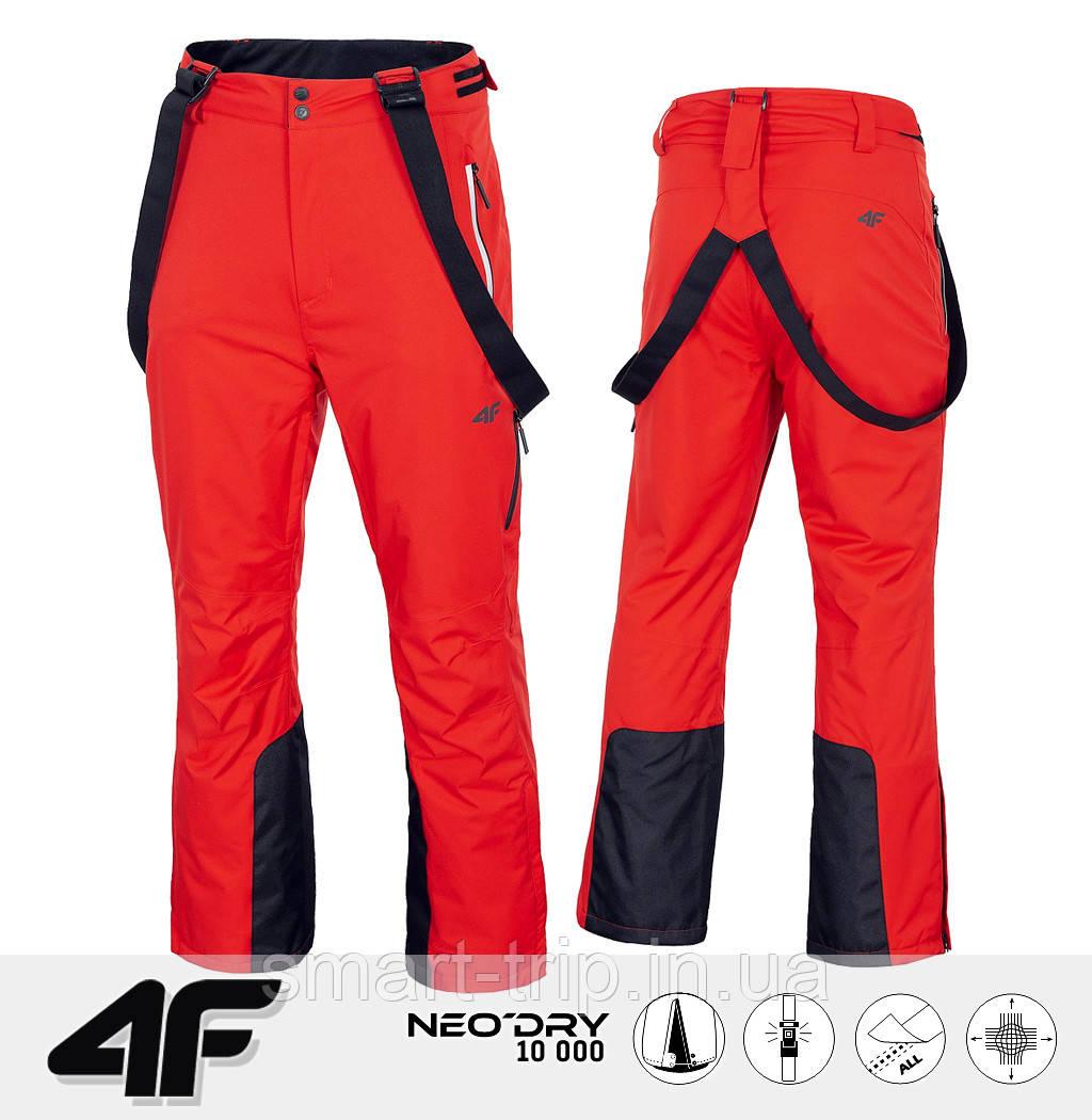 Мужские горнолыжные штаны 4F 2021 M красные (H4Z20-SPMN003-62S-M)