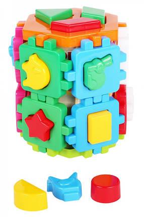 """Дитяча іграшка Логіка-сортер """"Розумна дитина"""" Технок 2001, фото 2"""