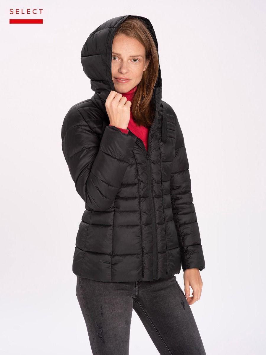 Демисезонная женская черная куртка Volcano J-Simly L06027-700
