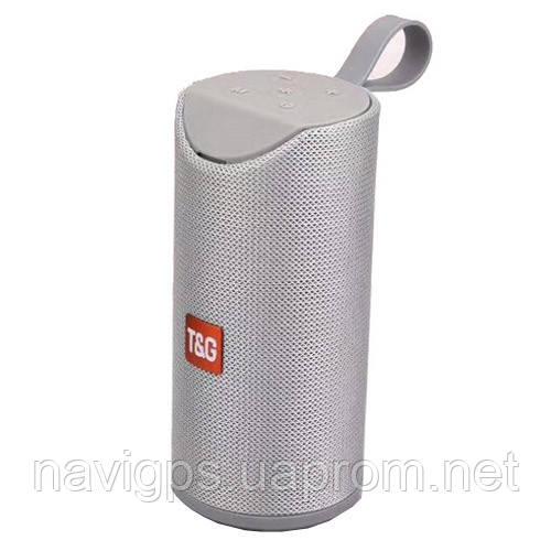 Bluetooth-колонка SPS UBL TG113A, c функцией speakerphone, радио, grey