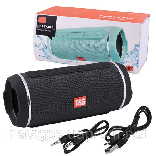 Bluetooth-колонка SPS UBL TG116C, c функцией speakerphone, радио, black