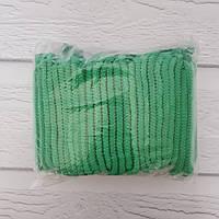 Одноразовая Шапочка гормошка зеленая