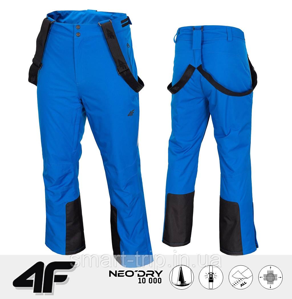 Мужские горнолыжные штаны 4F 2021 S синие (H4Z20-SPMN003-33S-S)