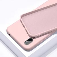 Чехол Silicone Case full для Huawei Y6 Prime 2018 Pink