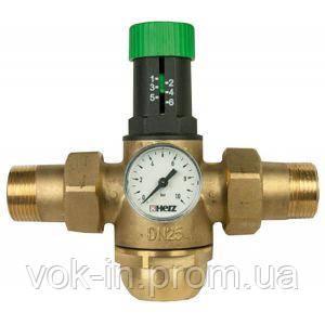 1268224 Редуктор давления Herz для горячей воды - 1 1/4, фото 2
