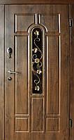 Входная дверь Арка улица с ковкой Redfort серия Стандарт +