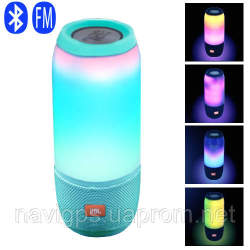 Bluetooth-колонки JBL PULSE 3, lightshow, PowerBank, радіо, speakerphone