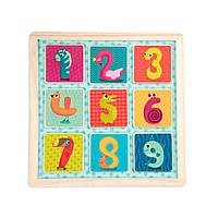 Деревянная игрушка-вкладыш Battat - Магнитные цифры (BX1848GZ), фото 1