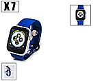 Смарт часы / Умные часы / Smart watch х7 (синий) , фото 3