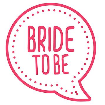 """""""Bride to Be"""" - Колпачки"""