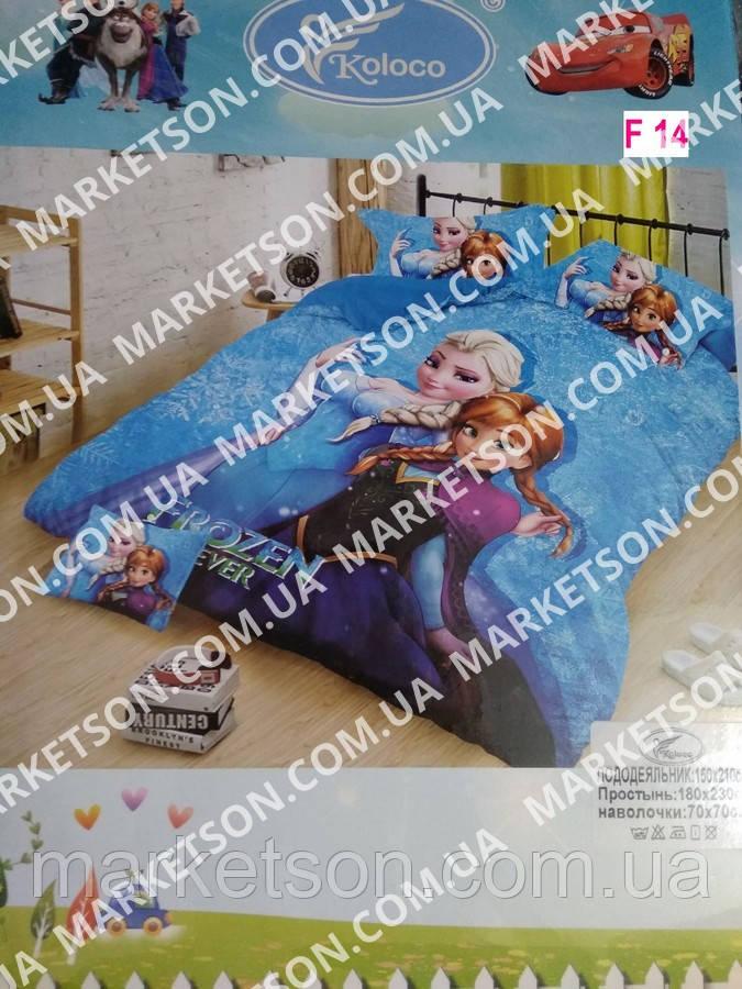 Детское постельное белье 5D. Фланель байка.