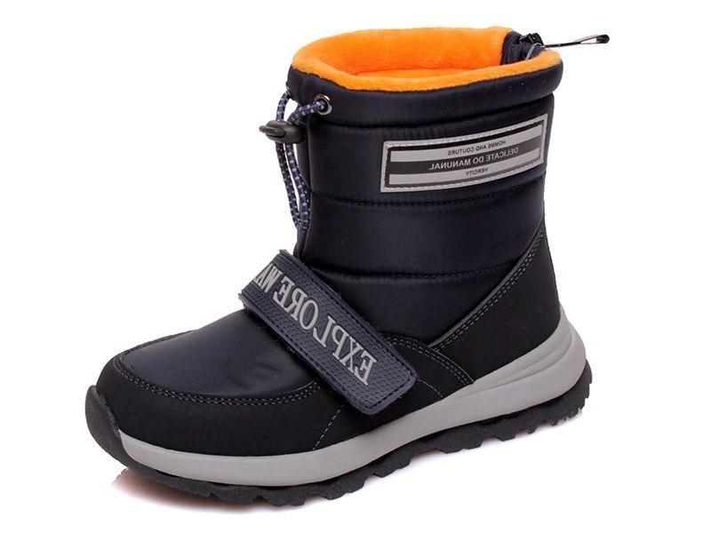 Детские дутые ботинки с натуральной шерстью внутри размер 28-31 Киев