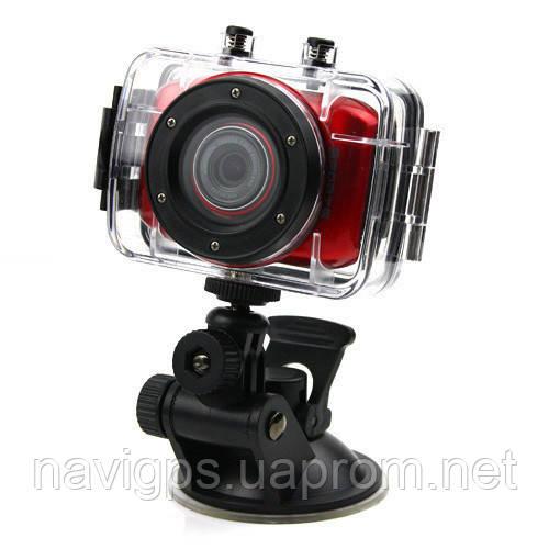 Спортивний відеореєстратор S 020/ F5 HD, TOUCH SCREEN, waterproof case