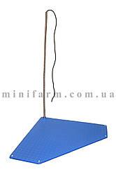 Коврик с подогревом для поросят треугольный