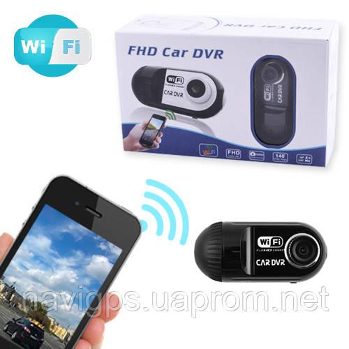 Автомобильный видеорегистратор 03 Wi-Fi, 1080P Full HD