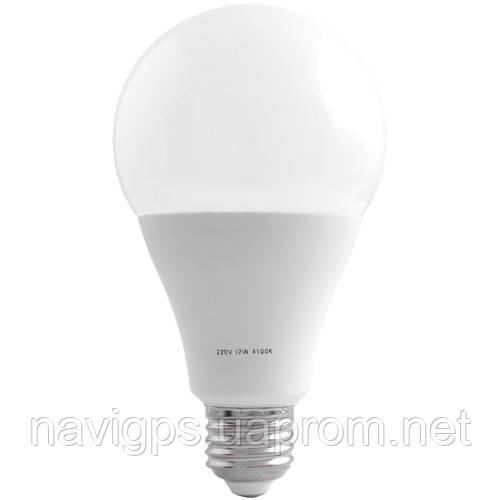 Лампа светодиодная A80 Е27 12W 4100K стандарная- 10