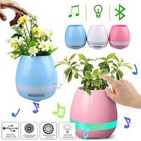 Bluetooth-колонка YX-HP201, цветочный горшок, фото 1