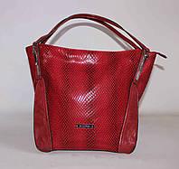 Красная женская сумка SilviaRosa