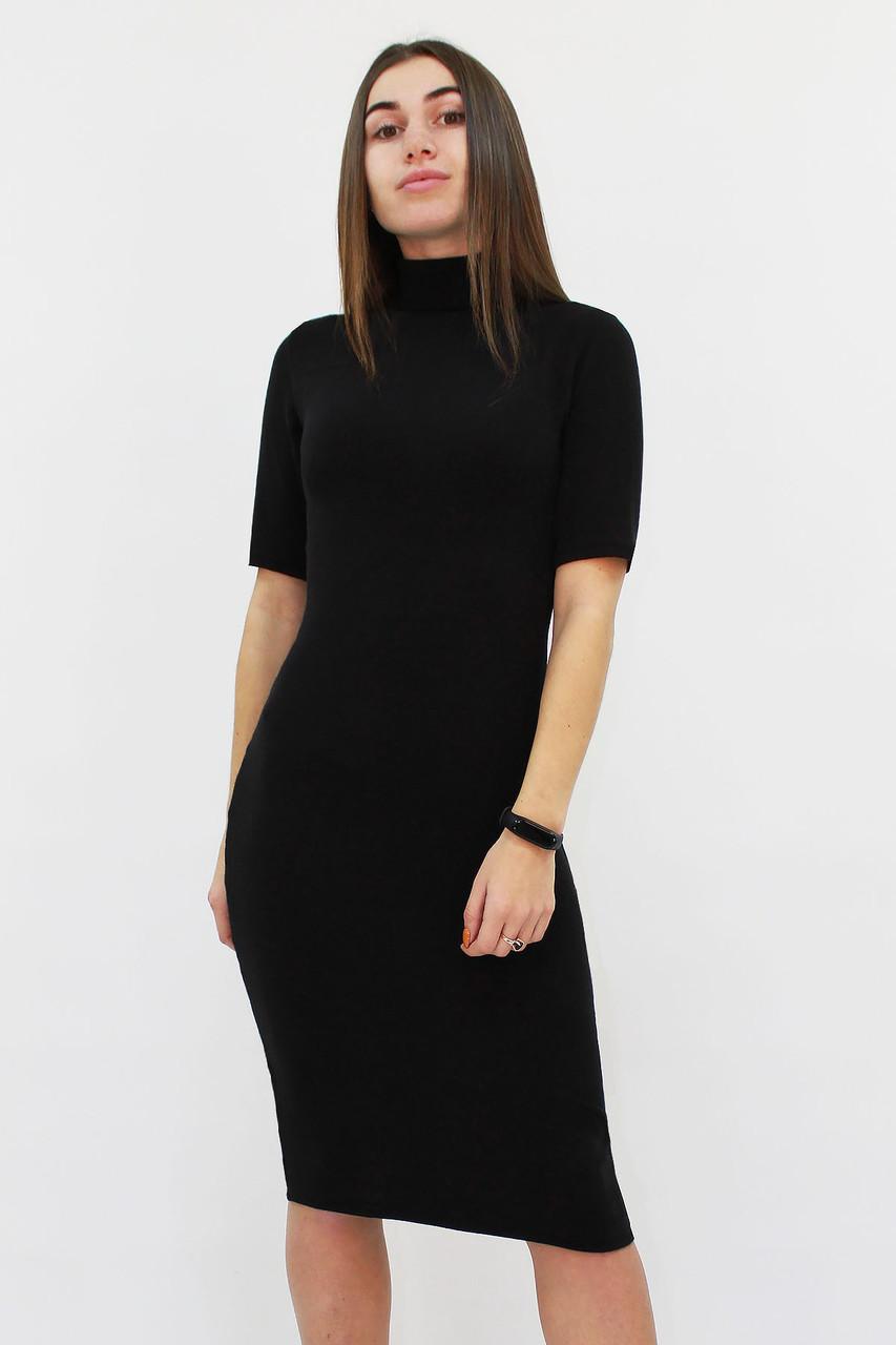 Женское ангоровое платье Florida, черный