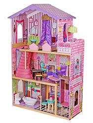 Деревянные детские домики и кухни