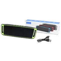 Bluetooth-колонка SC-208 c функцией speakerphone, радио, green