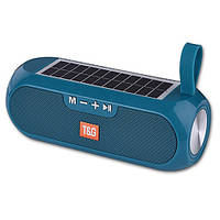 Bluetooth-колонка SPS UBL TG182, c функцией speakerphone, радио, PowerBank, часы, солн батя, aquamarine
