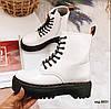 Белые демисезонные ботинки 36 размер