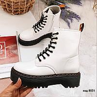 Белые демисезонные ботинки 36 размер, фото 1