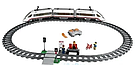 Конструктор Скоростной пассажирский поезд K8012 (628 деталей), фото 3