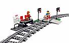 Конструктор Скоростной пассажирский поезд K8012 (628 деталей), фото 5