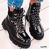 Демисезонные черные ботинки 36 размер