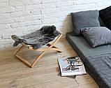 КІТ-ПЕС by smartwood Лежанка для кошки кота Лежак для кошки кота Спальное место, фото 5