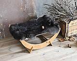 КІТ-ПЕС by smartwood Лежанка для кошки кота Лежак для кошки кота Спальное место, фото 6