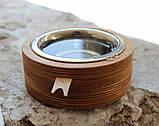 КІТ-ПЕС by smartwood Миска на подставке | Миска-кормушка металлическая для собак щенков  XS - 1 миска, фото 2