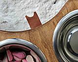 КІТ-ПЕС by smartwood Миски на подставке | Миска-кормушка металлическая для собак щенков  XS - 2 миски, фото 7