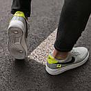 Кроссовки мужские Nike Air Force 1 World, серые, фото 4