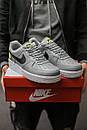 Кросівки чоловічі Nike Air Force 1 World, Сірі, фото 2