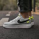 Кроссовки мужские Nike Air Force 1 World, серые, фото 5