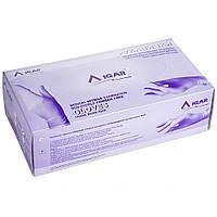Перчатки нитриловые IGAR неприпудреные, фиолетовые M, 200 шт.