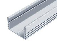 Алюминиевый профиль ЛП-12 для светодиодных лент