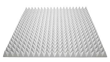 Акустический поролон Ecosound пирамида 70мм 1м х 1м серый