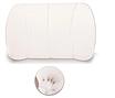 Ортопедическая автомобильная подушка набор Lux ZZ под поясницу и на подголовник в авто, фото 4