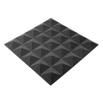 Акустическая панель Ecosound пирамида Pyramid Gain Black 45х45см, 30 мм.