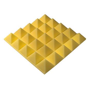 Акустический поролон Ecosound пирамида Pyramid Gain Yellow 45х45см, 70 мм.