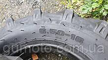 Покрышка 6.50-16 PR 12 с камерой для мини тракторов TAIWAN QUALITY, фото 2