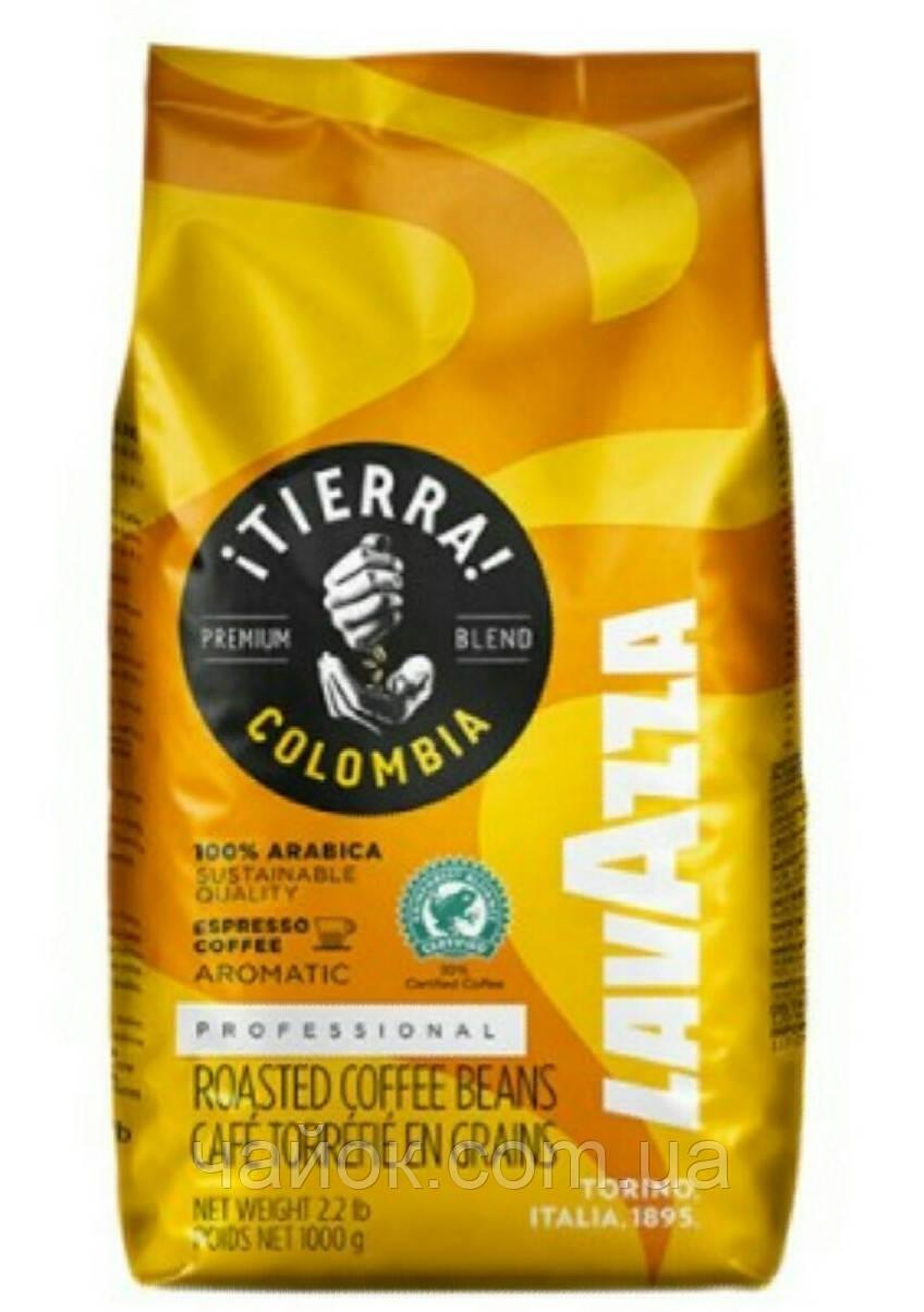 Кофе в зернах   LAVAZZA  Tiera Colombia  1 кг